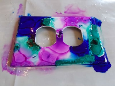 Paint the Switch Plates:
