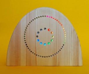 CountClock in Rainbow Colors