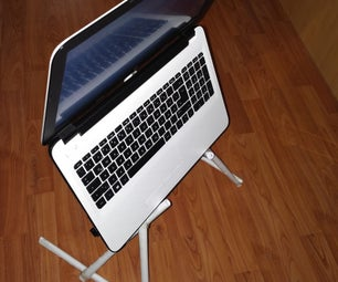 Laptop Stand for Working in Bed Made From Paper