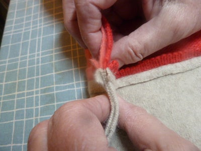 Complete Sewing the Scarf Together