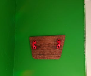 Old Piece of Boat Drift Wood Into Wall Decoration