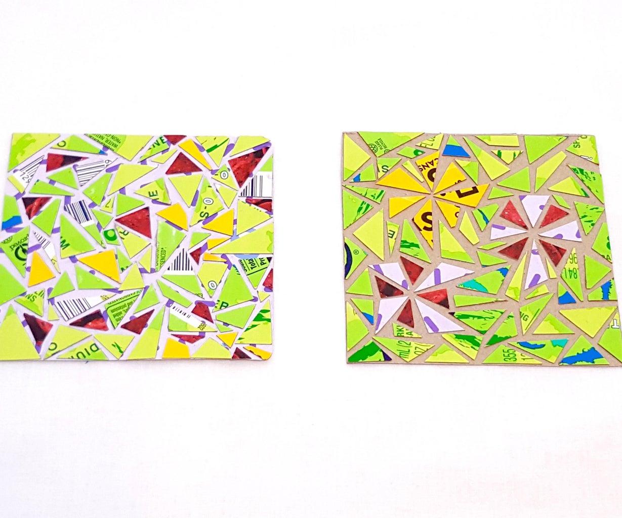 Mosaicos De Cartón