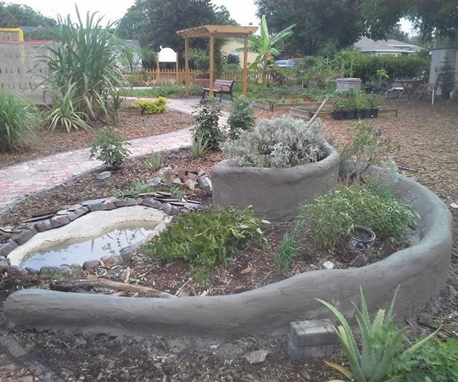 The Community Spiral Garden