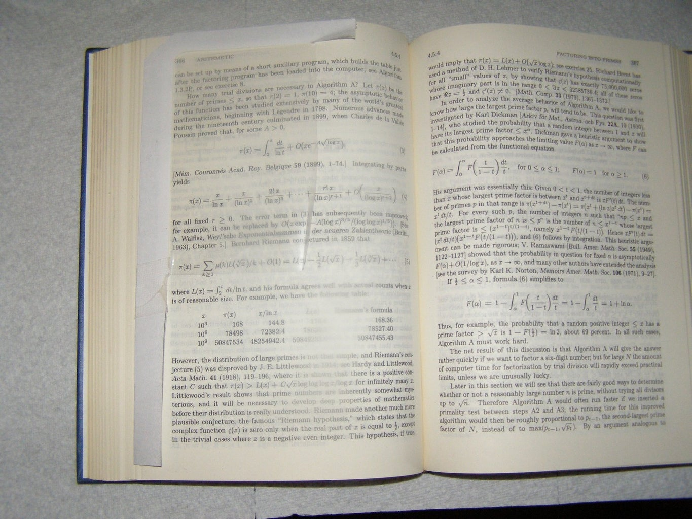 Illustration of Bookmark in Use