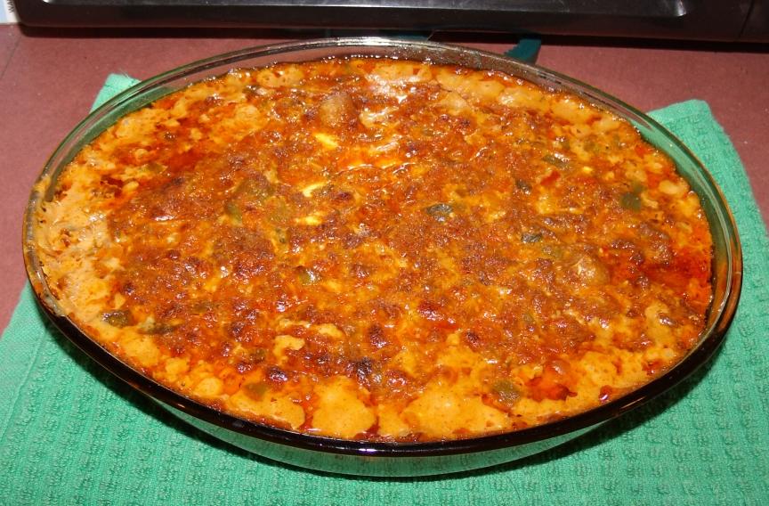 Southwest style Gnocchi casserole