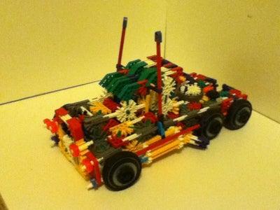 New Knex Optimus Prime Transformer
