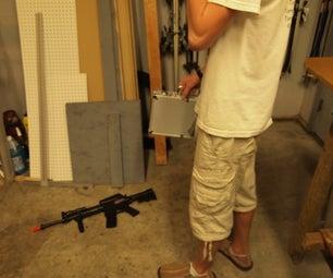 Hidden Shot Spy Briefcase