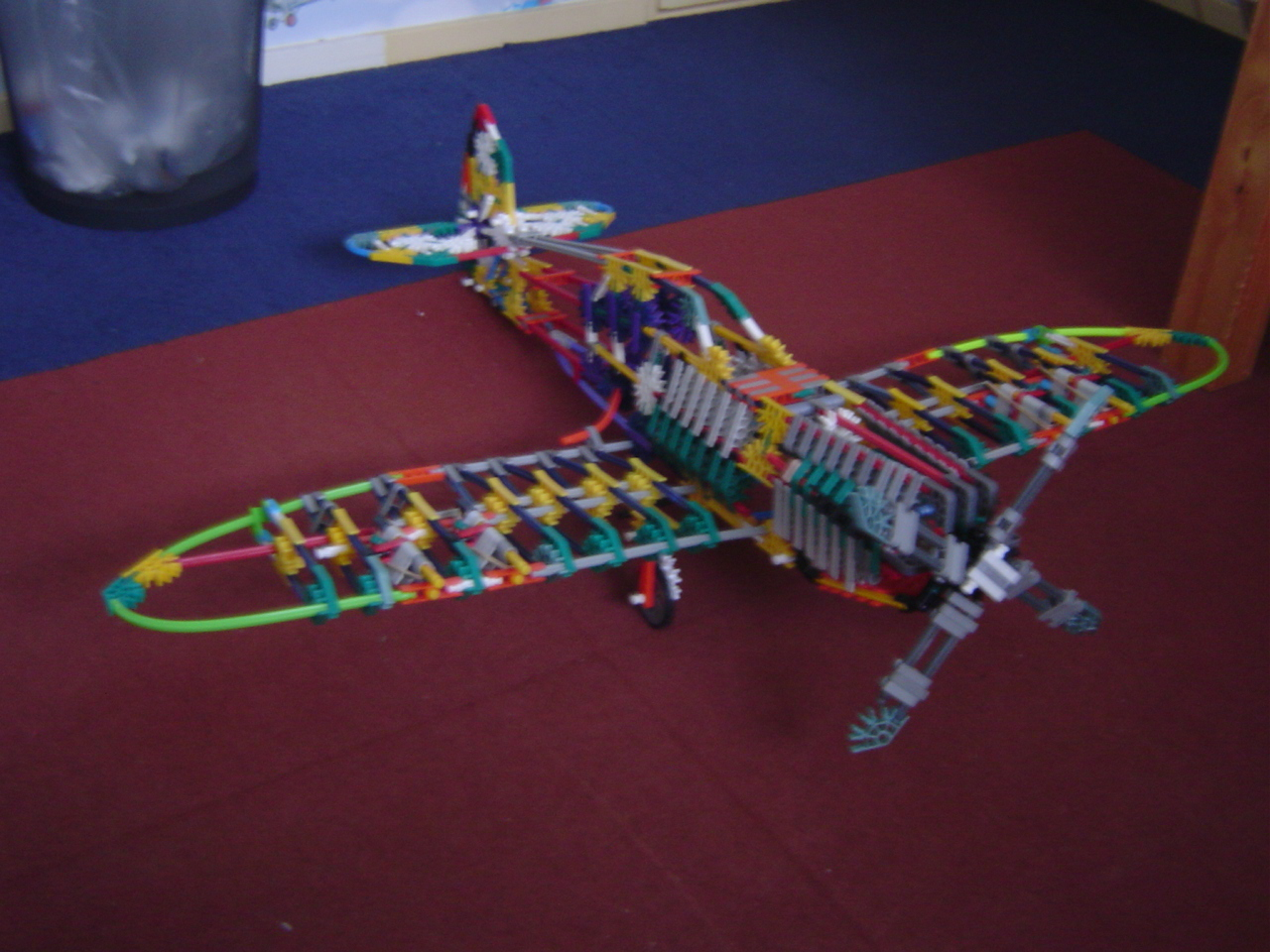 WW2 K'nex Spitfire  V3.0