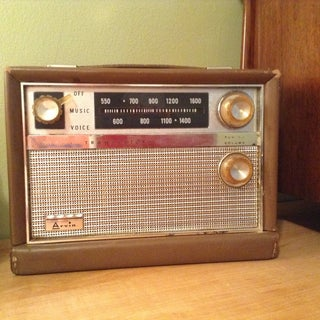 Converting Old Radio Into a Bluetooth Speaker
