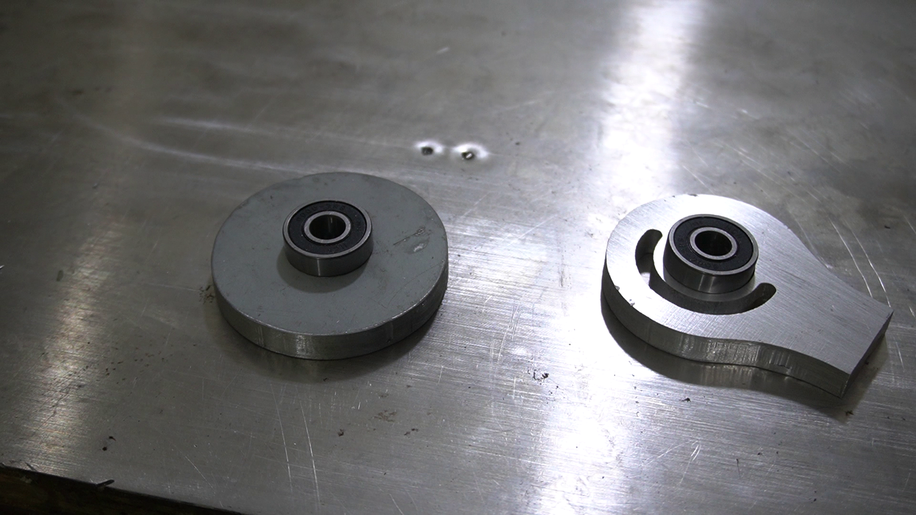 Installation of the Bearings
