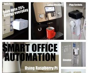 DIY - Smart Office Automation Using Raspberry Pi
