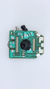 Open the Stop Watch and Locate the Button Contacts on the Circuit Board