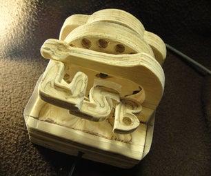 Miniature USB Powered Marble Machine With USB Port