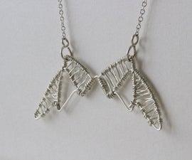 Wirework Wings Pendant