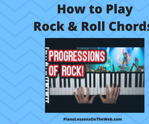 How to Play Rock & Roll Chord Progressions on the Piano
