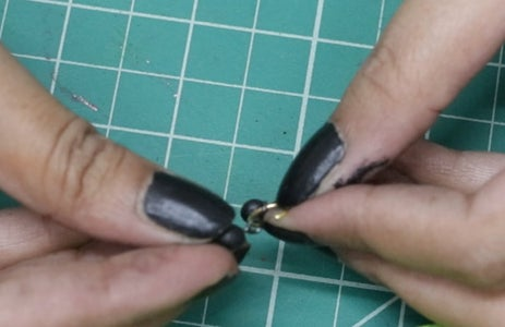 Tie the Clay Beads
