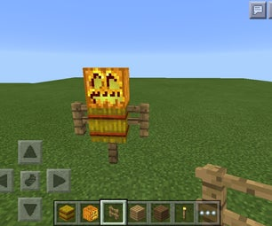 Minecraft Easy Scarecrow