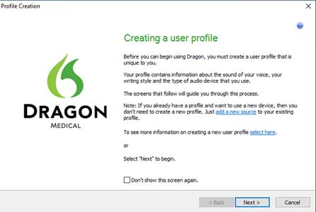 Verify User Profile Creation