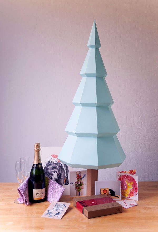 Sustainable DIY Christmas Tree