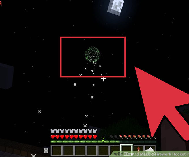 How to make fireworks in minecraft