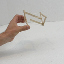 Impossible Structure , Simple Way to Make From Popsicle Sticks