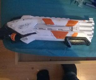 """Nerf Mod: Destiny Vanguard Custom Shotgun """"Snaggletooth"""""""