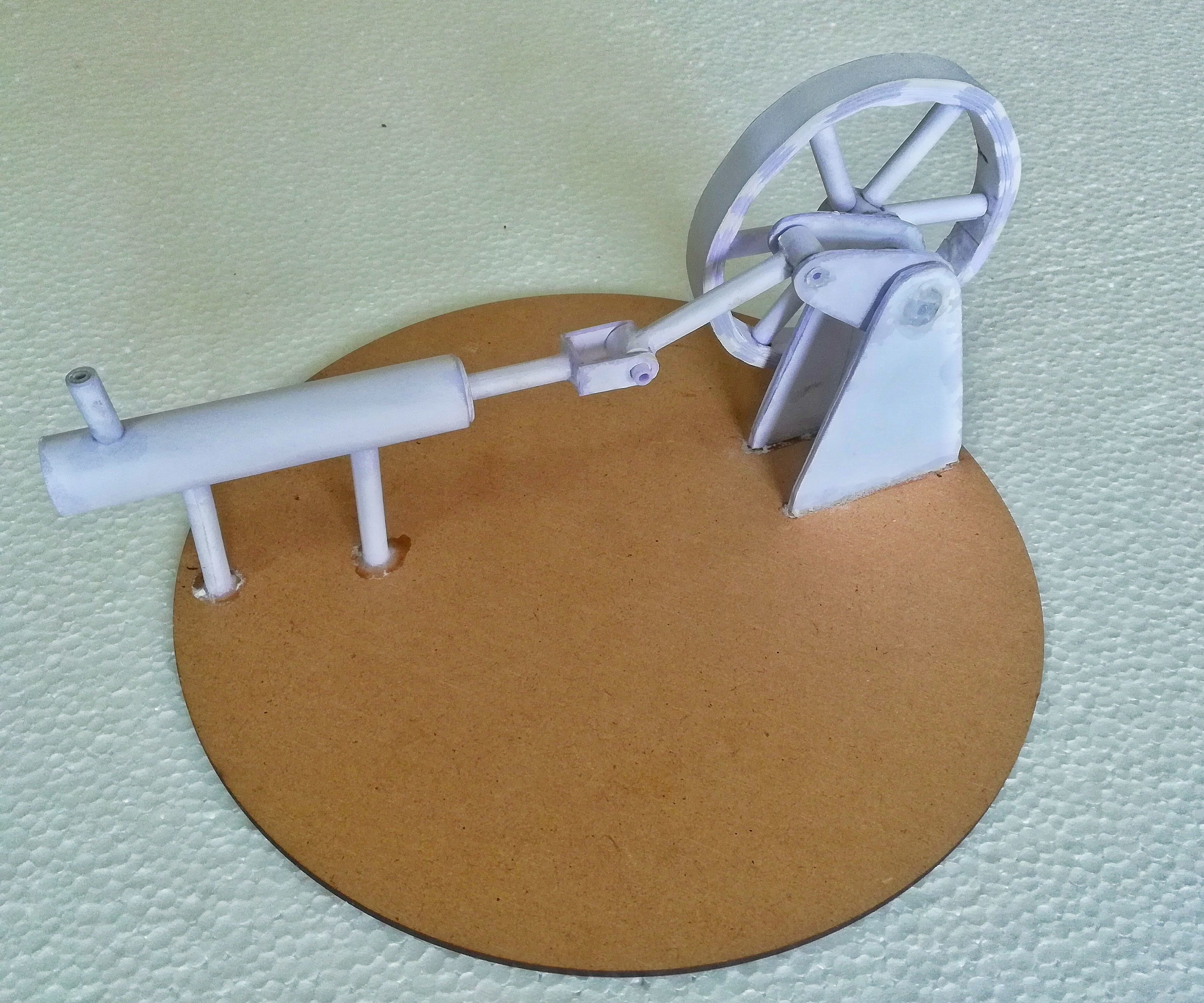 PAPER-MADE STIRLING ENGINE MODEL   How to Make