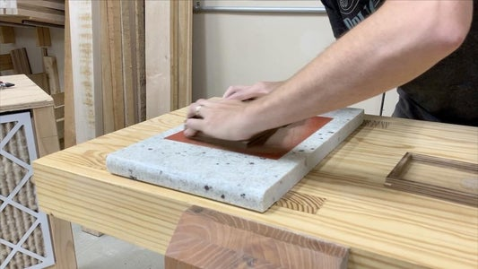 FLATTENING THE BOX BY HAND: