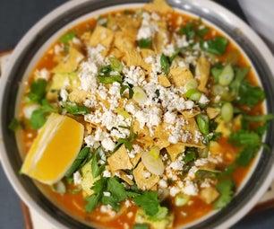 罐装鸡玉米饼汤改造