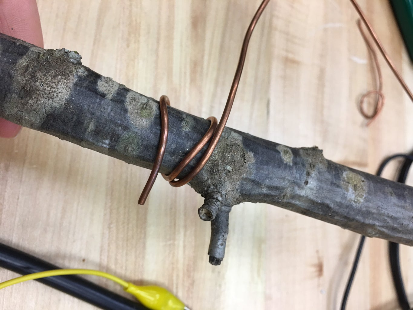 Add Copper Wire and Connection