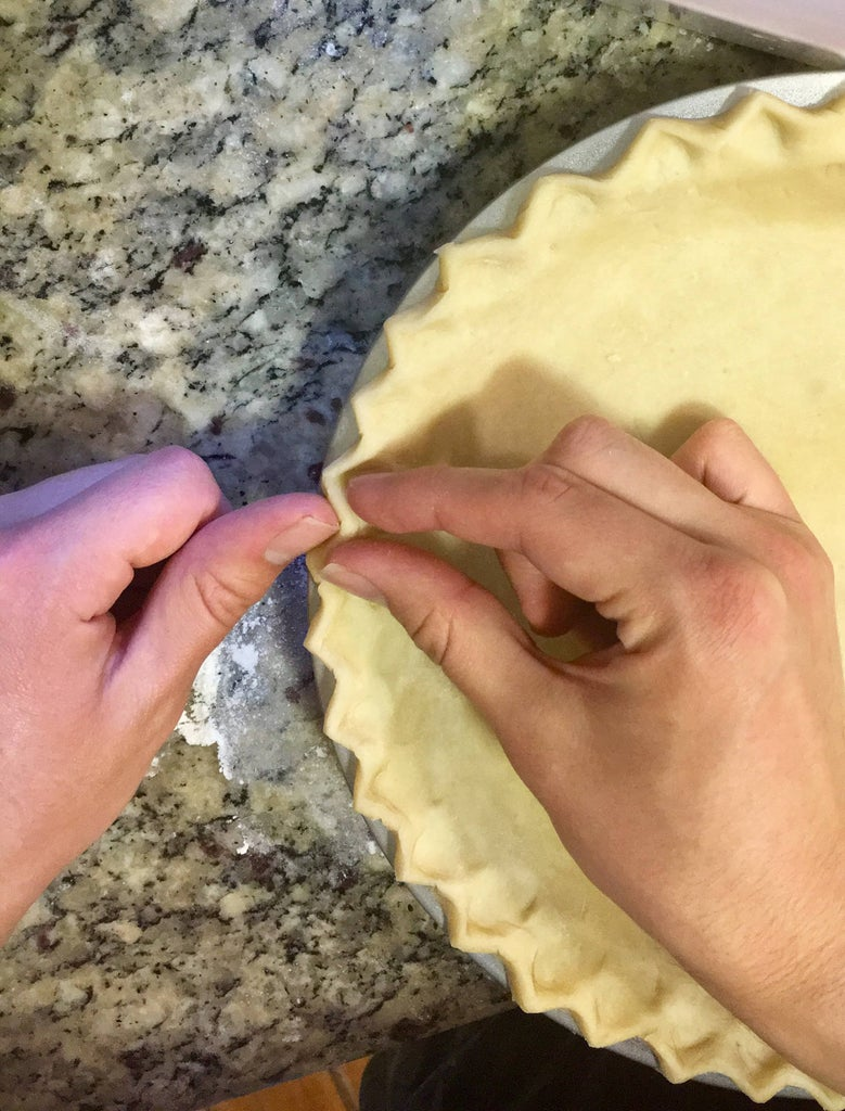 Roll and Bake the Pie Crust
