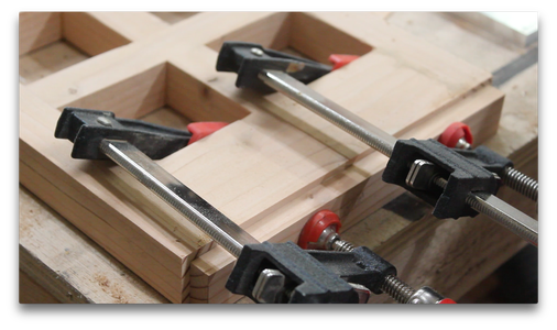 Adding the Bottom Wooden Spacer