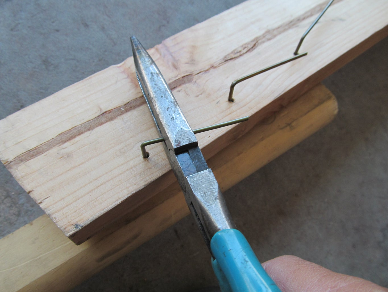 Install the Rotating Hooks.