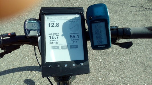 Kindle As a High-contrast GPS (works for Any Ebook)