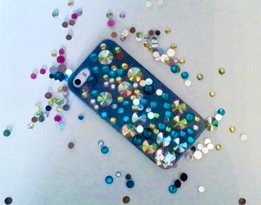 DIY Gem Phone Case