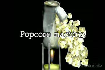1$ Popcorn Machine