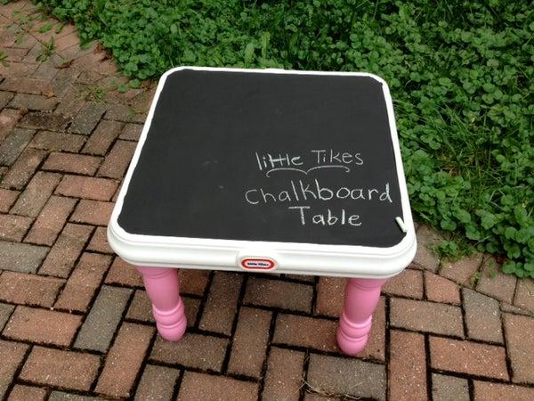 Little Tikes Chalkboard Table