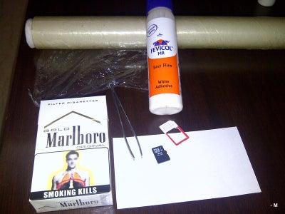 Hiding a Sim/ Memory Card in a Cigarette Box(Cigarette Idea 5 of 5) - (Made for a Contest Long Lost)
