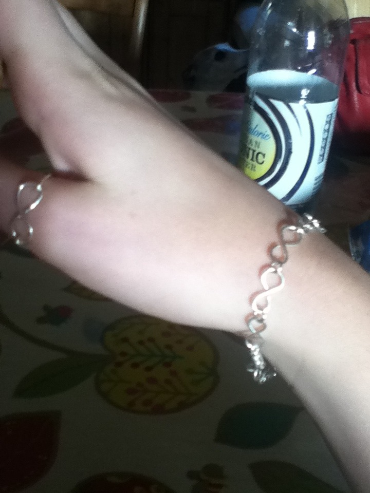 Infinity Bracelet And Ring