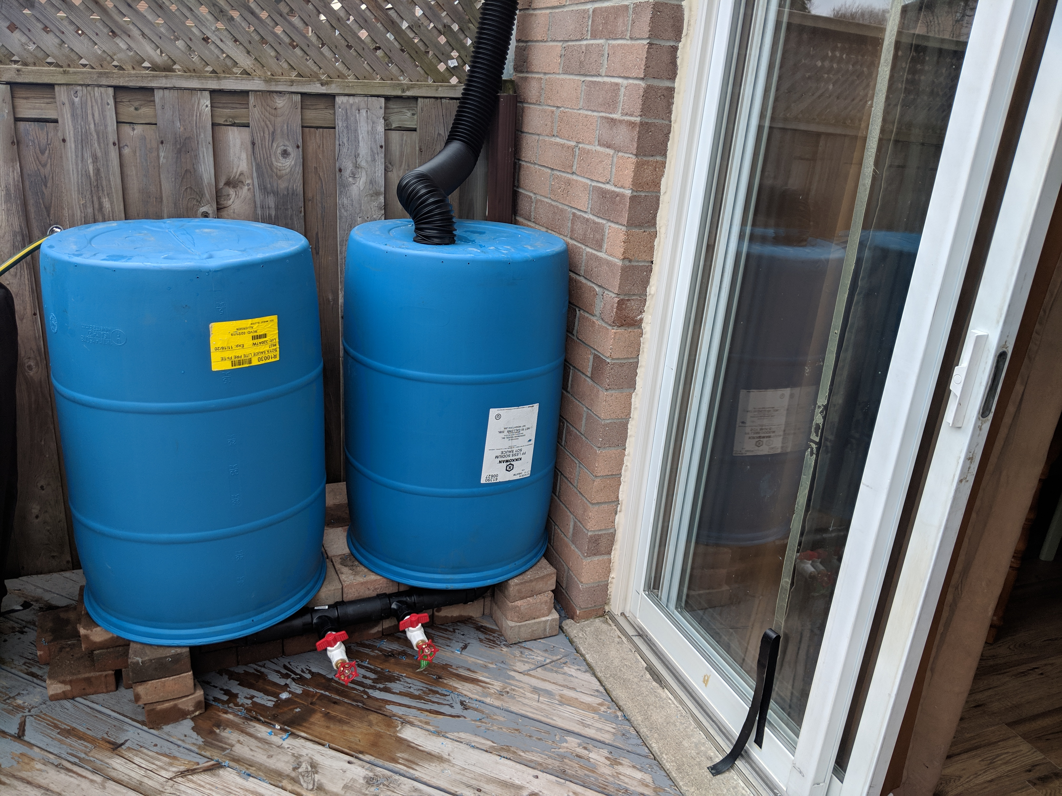 High Volume Rain Barrel