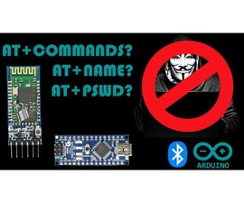 Secure Your HC-05 Bluetooth Module Using AT Commands