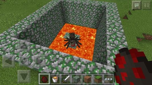 Minecraft PE Spider Pit