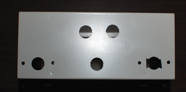 Drill Mounting Holes in Enclosure