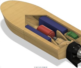3D Printed RC Water Jet Boat Customizable UNDER CONSTRUCTION