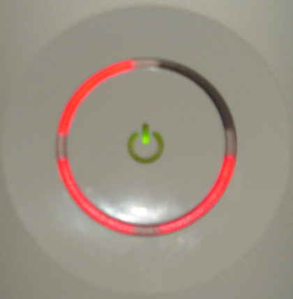 RED RING OF DEATH XBOX 360 PRANK!