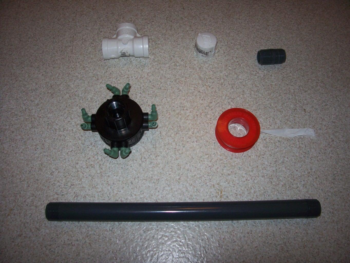 Make Carbon Dioxide Delivery System