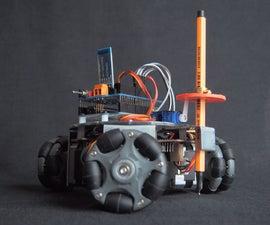 Omni Wheel CNC Plotter V2