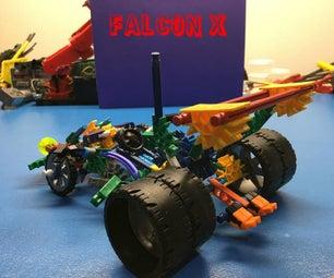 K'NeX Race Car: Falcon & Falcon X