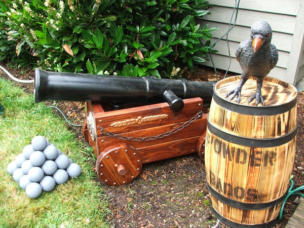 Halloween Pirate Cannon (and Fog Machine Disguiser)