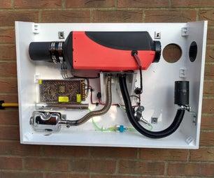Chinese Diesel Heater - Workshop Install